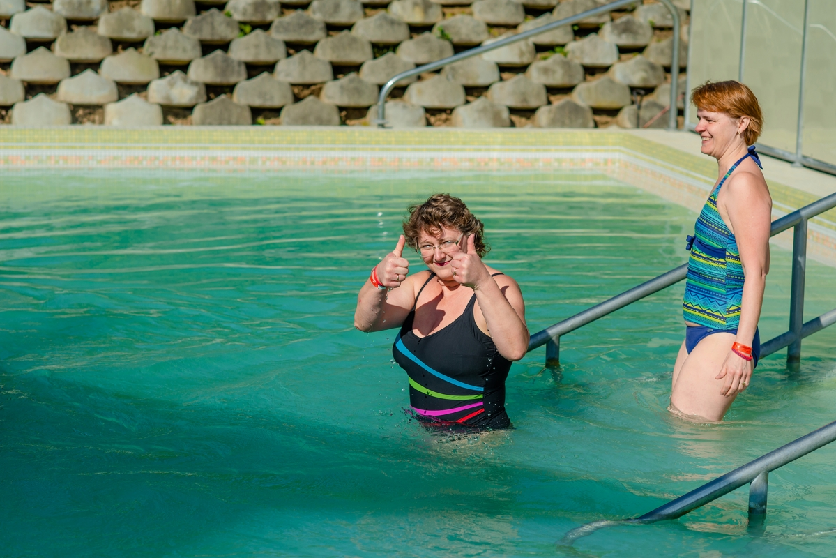 Zalakaros győgyfürdő a Berke Apartmantól 500 méterre